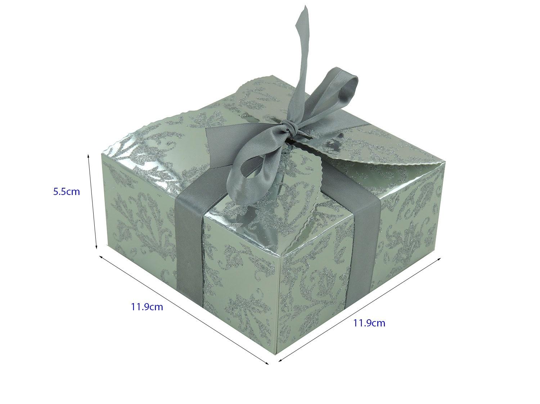 boites gteaux couleur argent achatvente de boite gteaux - Boite A Gateau Mariage Orientale