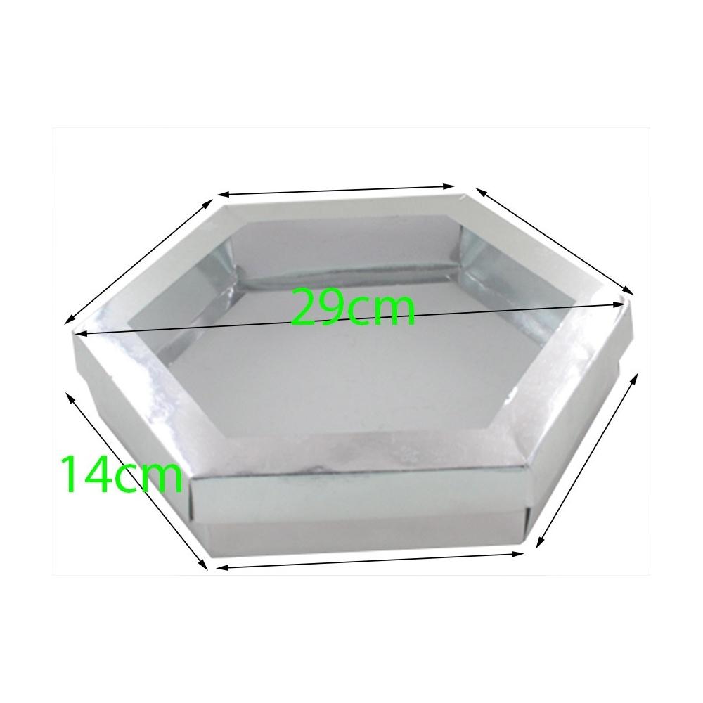 boite g teaux octogonale x10pcs. Black Bedroom Furniture Sets. Home Design Ideas