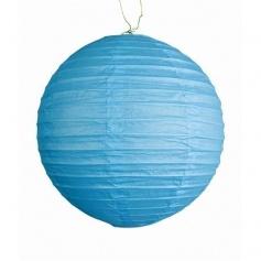 Lampions décoratifs -turquoise- Ø 25CM