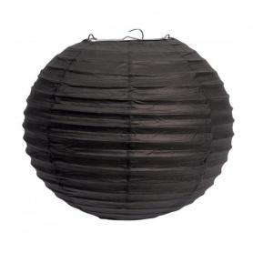 Lampion ballon-aubergine- Ø 25CM