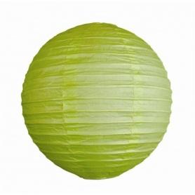 Lampion ballon-vert- Ø 25CM