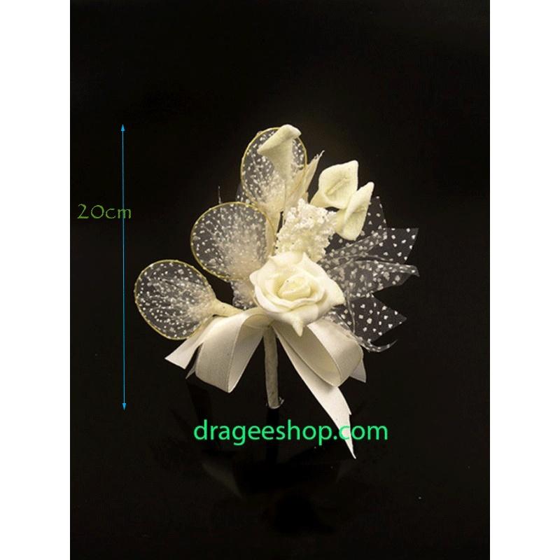 Fleur A Dragee F11 Ecru Drageeshop Com