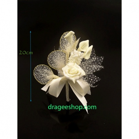 Fleur à Dragée(F10) blanc