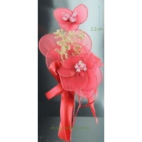 Fleur à Dragées Mariage-Rouge