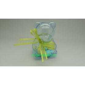 Nounours Transparent (PVC) avec dragées
