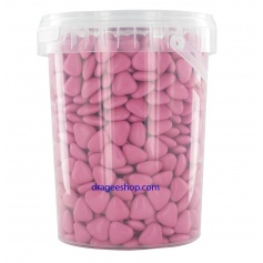 Dragées chocolat mini cœur -900g