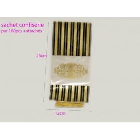 sachets confiserie x100pcc