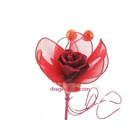 Fleurs de dragées x10pcs