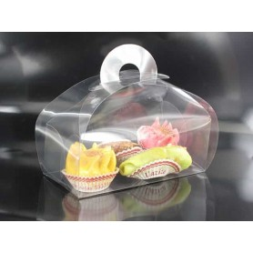 Boite à Gâteaux - Transparente x10