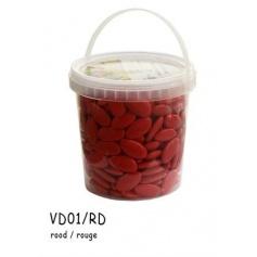 Dragée chocolat Rouge-1kg