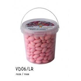 Dragées amandes rose
