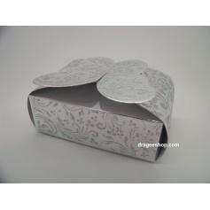Boîte à gâteaux -Papillon-Argenté
