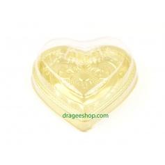 Boite gâteaux(Coeur)doré
