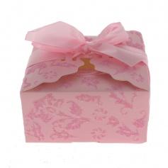 Boite a Gâteaux - mariage- Rose