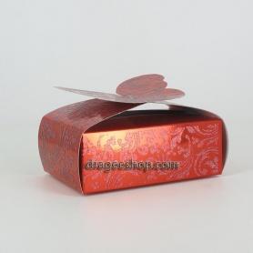 Boîte à gâteaux -Papillon Rouge