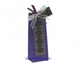 Boites à dragée- violet