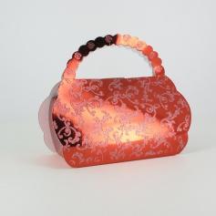 Boîtes à gâteaux -sac -Rouge x25