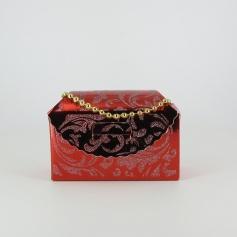 Boite gâteaux-(Linda) argenté